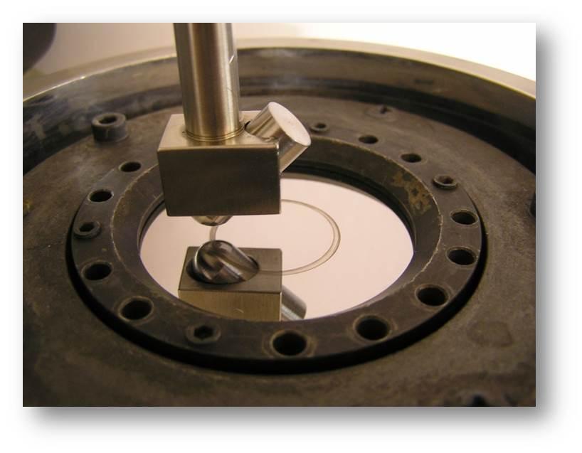 eksperyment pin on disc