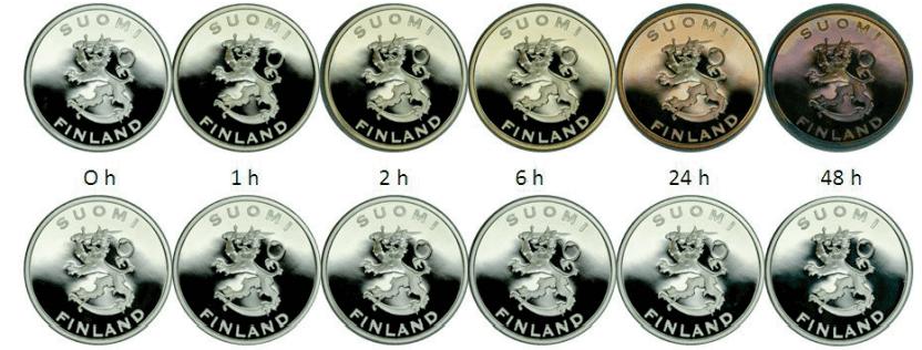 monety po czasie