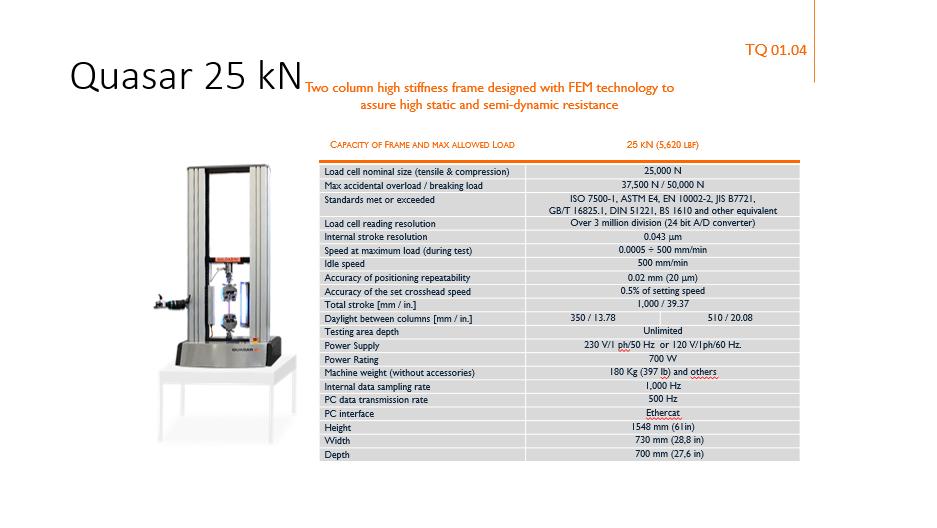Quasar 25kN<div style='clear:both;width:100%;height:0px;'></div><span class='cat'>maszyny nastołowe</span>